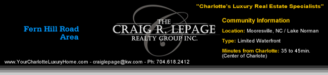 Mooresville NC / Luxury Homes / Real Estate / Lake Norman / Charlotte NC  Luxury Homes