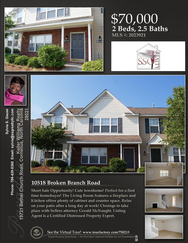 Great townhome in Old Stone Crossing - Charlotte, NC!