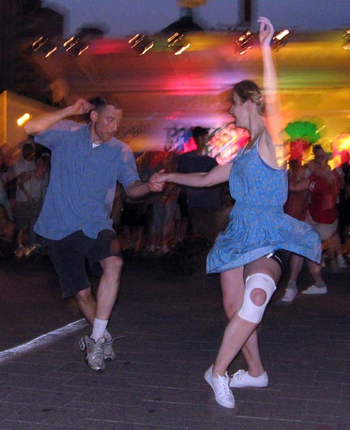 There is a lesson for beginners preceeding the dance. Children 15 and under ...