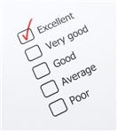 rating card