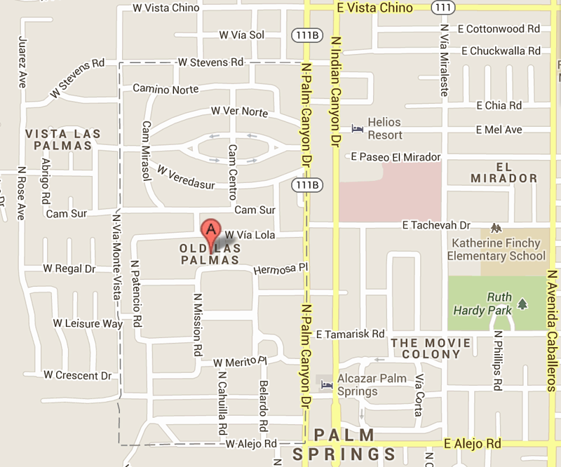 Celebrity Homes in Palm Springs area - Palm Springs Forum