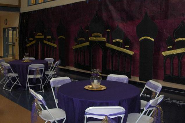 Arabian Nights Prom Theme