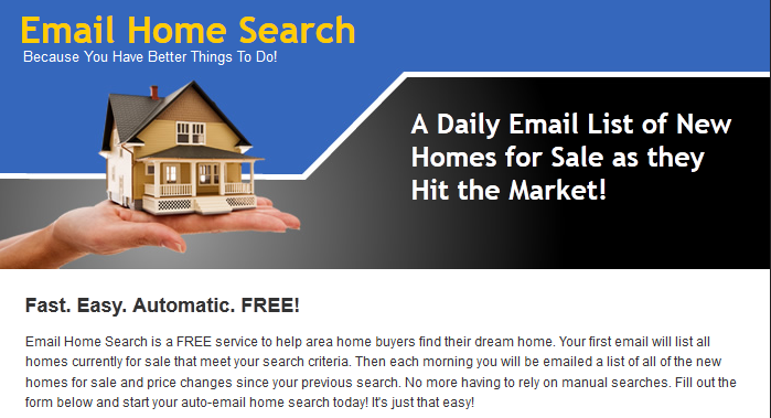 Portland Home Search by E-Mail