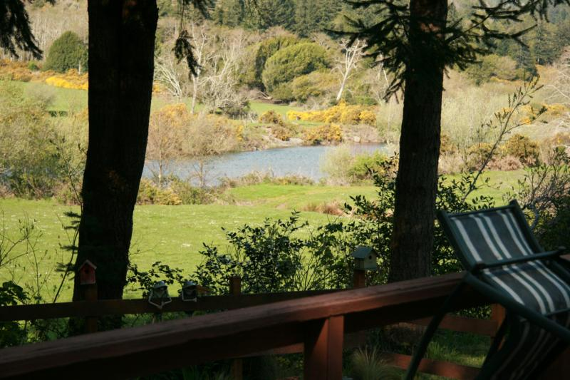 River view from rear deck