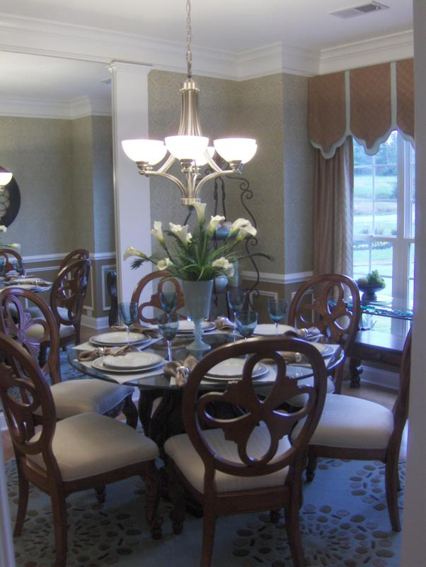 Model Home At Harrison Cove The Thomasville