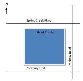 Directions to Shoal Creek Plano Texas Real Estate
