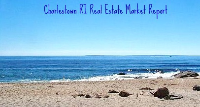 Charlestown RI Beach view of Block Island