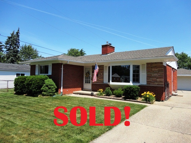 Roseville, MI real estate - SOLD in 2 days!