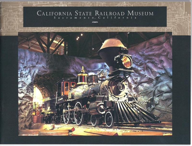 California State Railroad Museum book