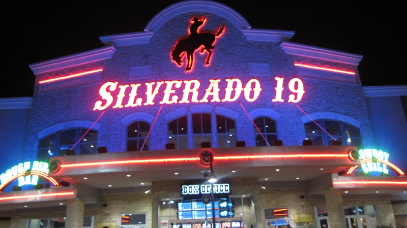 night at the movies quotskylinequot at silverado 19 in tomball