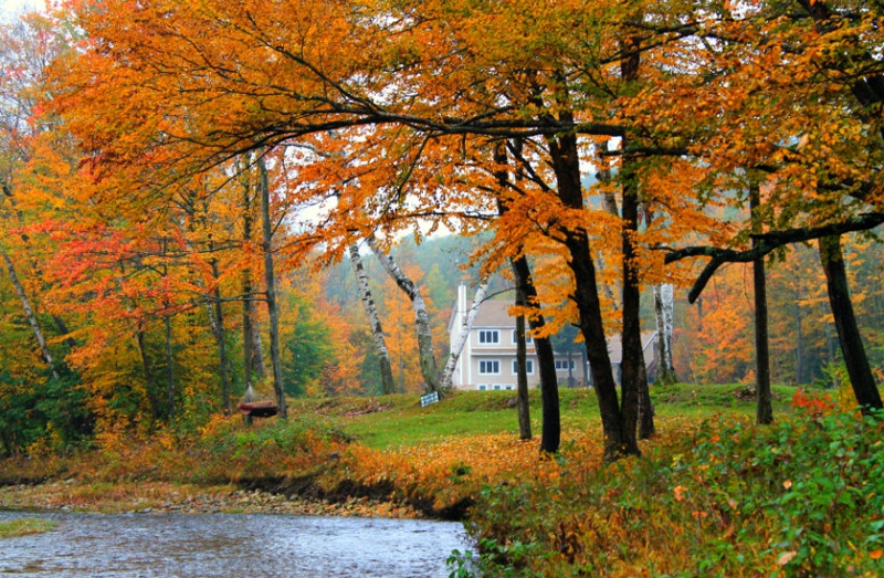New hampshire scenery gallery for White house fall garden tour 2017
