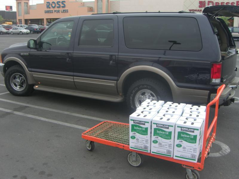 Oil fill up at Costco in Phoenix AZ