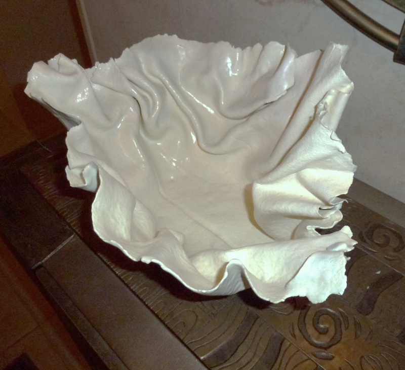 Free Form Porcelain by Margaret Rome
