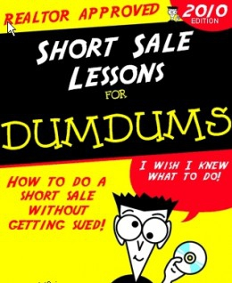 Realtor short sale lawsuits