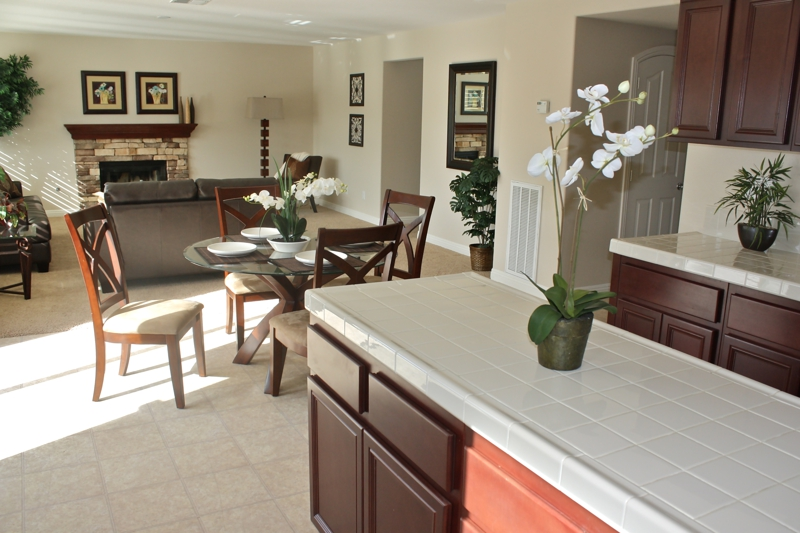 Winchester Family Room & Kitchen