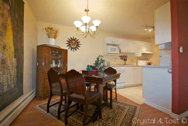 16A 80 Galbraith Drive SW - Dining Area