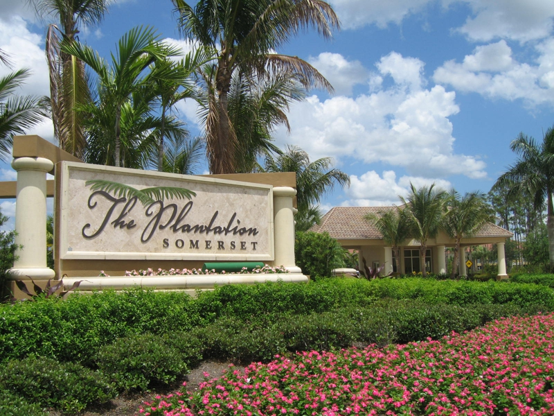 Waterfront homes in The Plantation, Fort Myers
