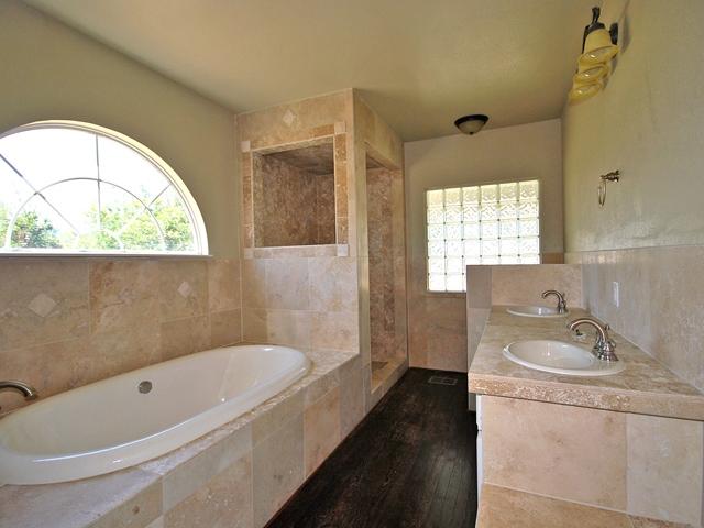 brown granite tile tropical