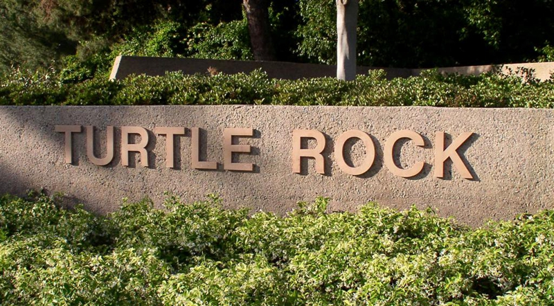 Turtle Rock sign