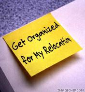 Get organized for your relocation