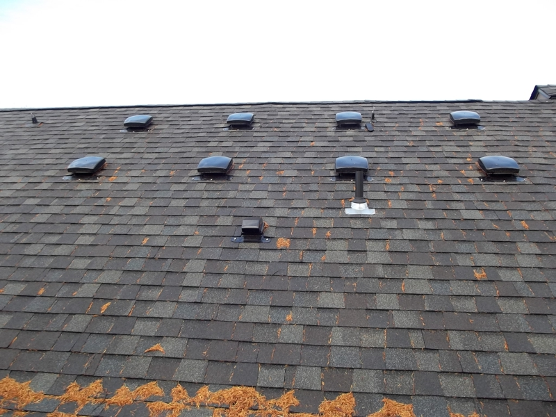 Roof Vents Installed Improperly