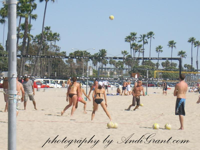 Long Beach Beach Volleyball - www.AndiGrant.com