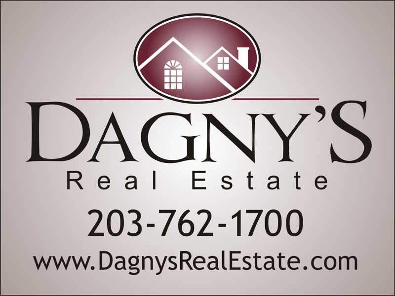 Dagny's Real Estate signs in Fairfield County CT