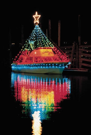 The Christmas Ship Parade on the Columbia and Willamette Rivers 2010