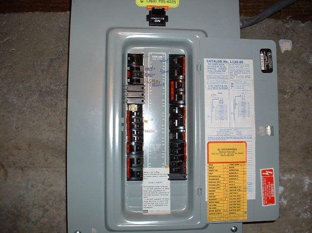 hazardous federal pacific electric panels escondido home. Black Bedroom Furniture Sets. Home Design Ideas