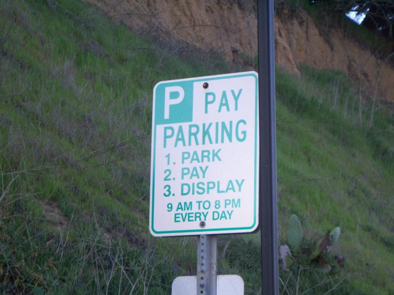 how to get away with not paying for parking