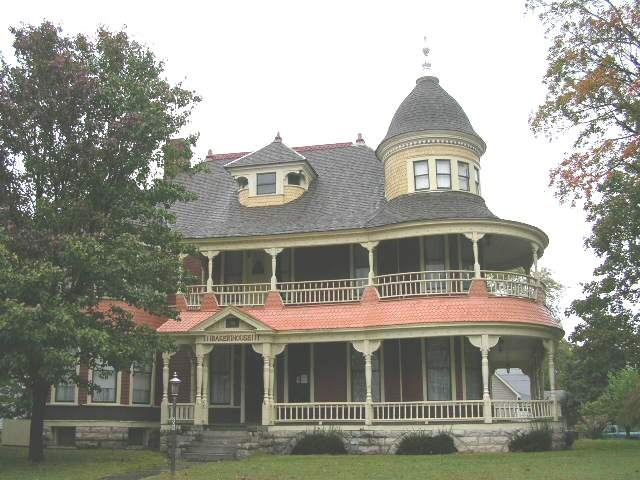Historic horace m baker house carthage missouri for Home builders in missouri