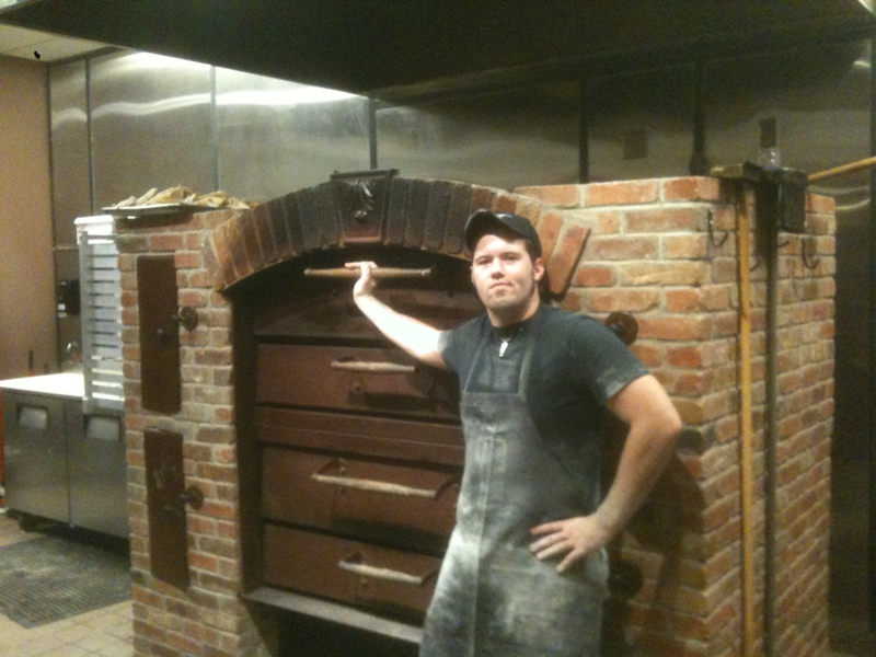 The Pizza Oven at Nicky V's in Northwest Albuquerque