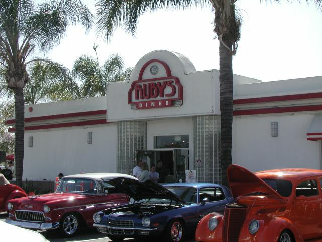 Whittier Cruise At Rubys Diner
