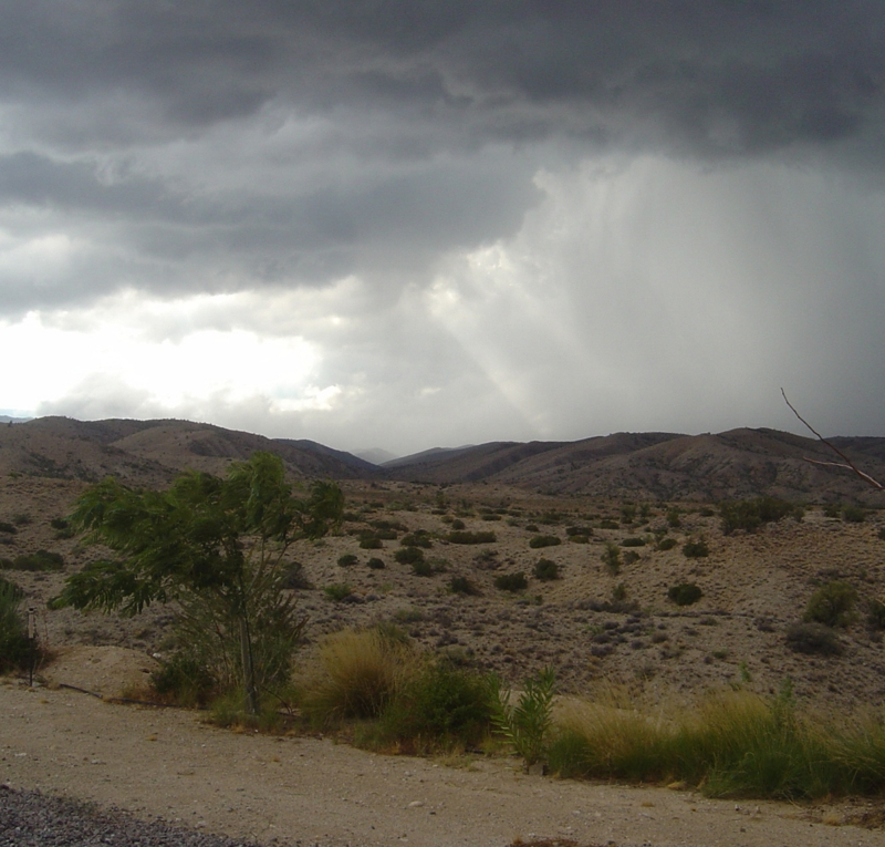 Storm at Windmill Ranch, Kingman, AZ