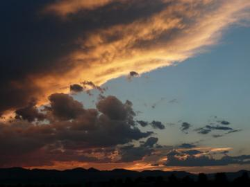 highlands ranch sunset