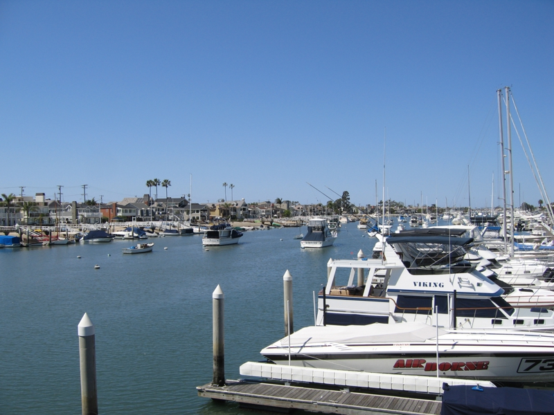 Newport Harbor Balboa Island