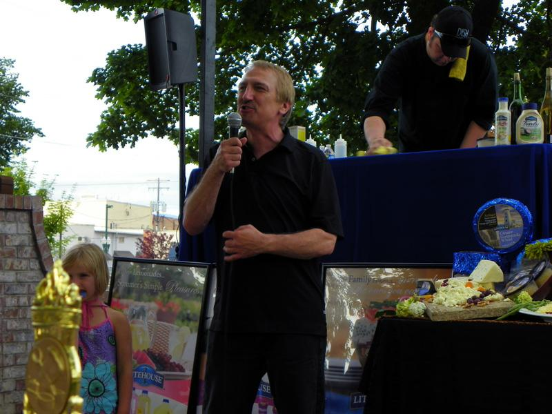Gary Lirette, MC of the 2010 Sandpoint Summer Sampler