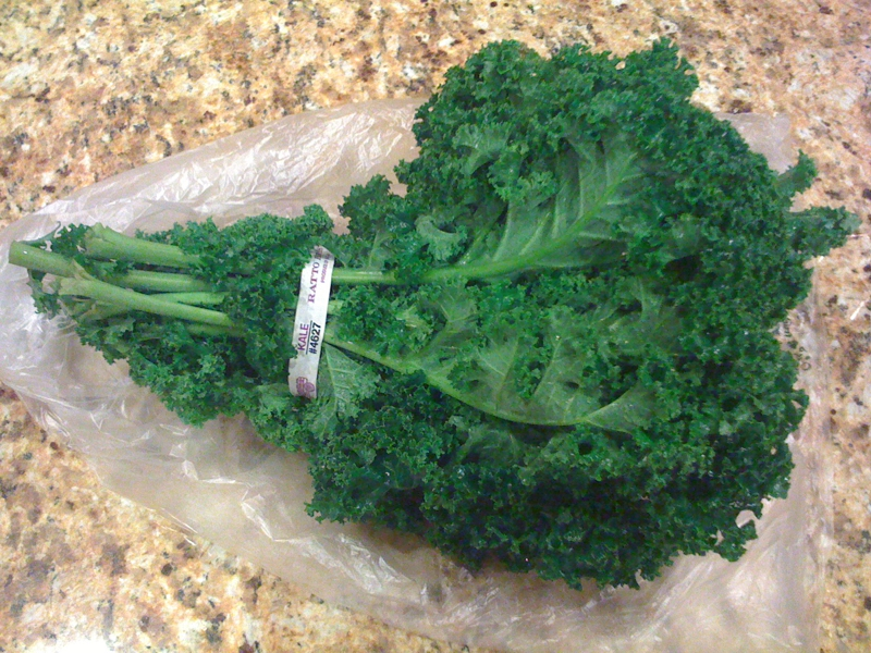 One head of kale