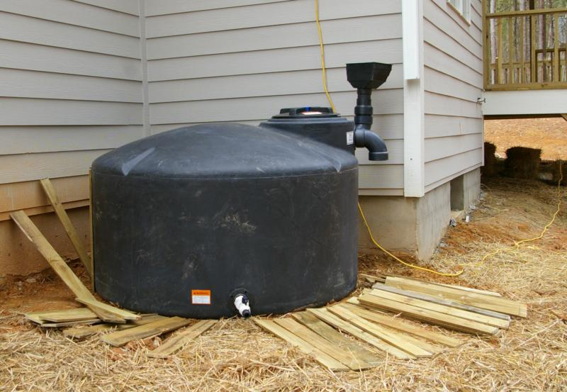Rainwater collection systems now available in raleigh for Home rainwater collection