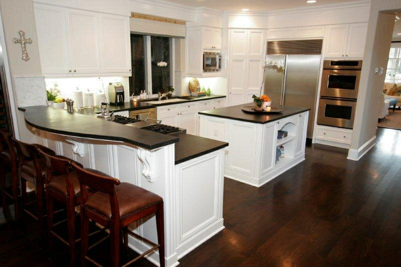 1000 images about kitchen ideas on pinterest white for Wood floor kitchen ideas