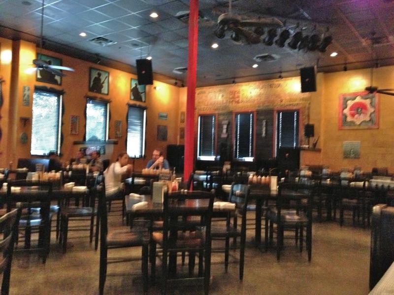 Jacksonville night life mojo kitchen and blues bar for Mojo restaurant
