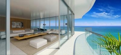 Chateau Ocean condominium in Surfside, Miami Beach