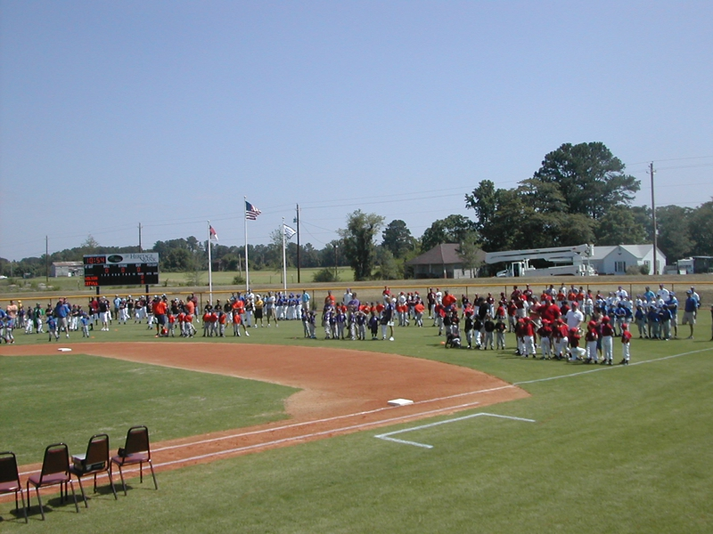 Dedication of Heritage Bank Little League Stadium at Burt Gillette Park