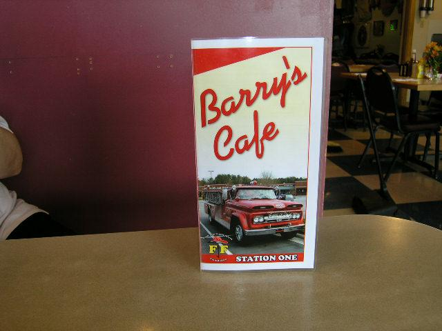 Barry's Cafe 2851 Jones Franklin Rd. Raleigh North Carolina