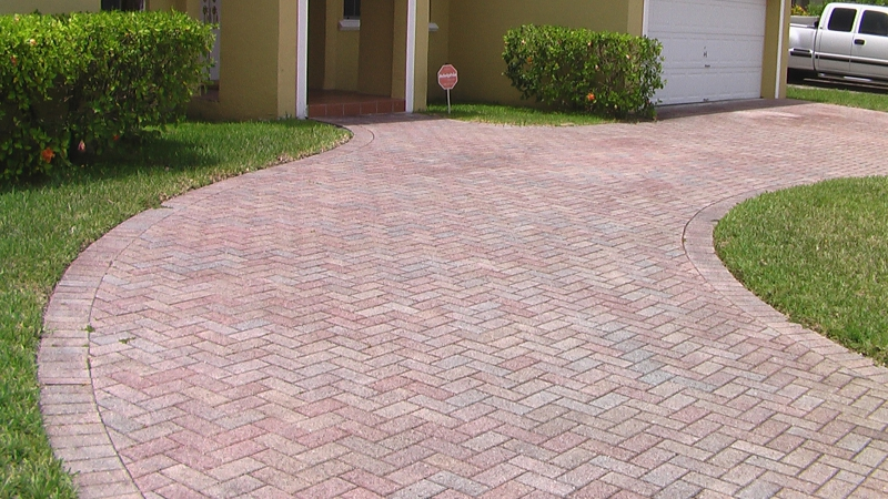 Interlocking Brick Driveway ~ Fixture or Chattel