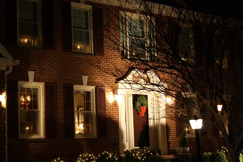Chantilly Highlands Decorated for Christmas