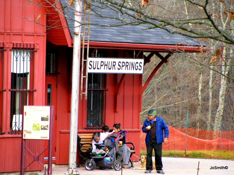 Sulphur Spings Railroad Station