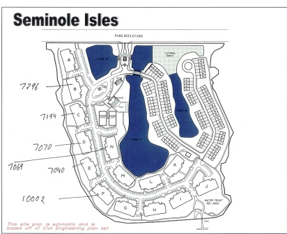 Seminole isle waterfront condos and townhomes