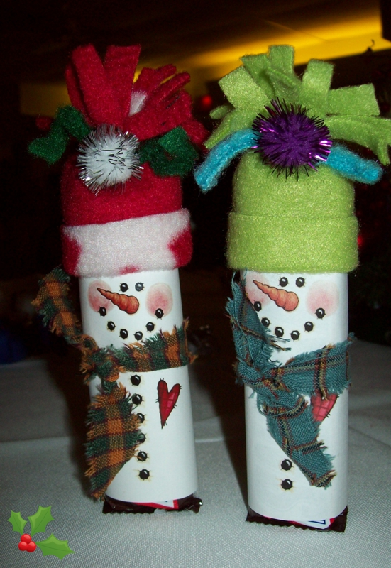 Christmas crafts creative holiday party favors - Christmas favors for adults ...