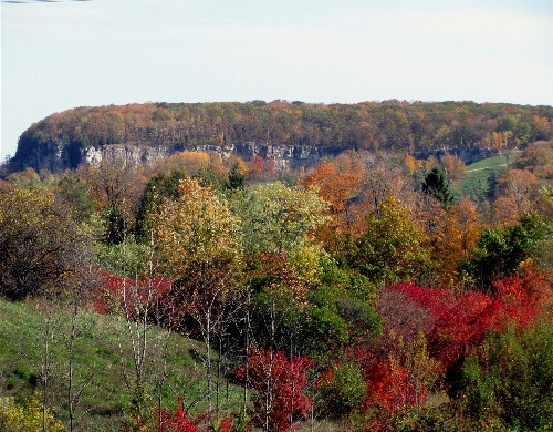 Niagara Escarpment in Autumn